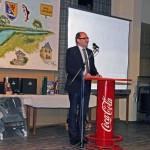 Auch der Kirner Bürgermeister Herr Kilian ließ es sich nicht nehmen dem ASV zu gratulieren