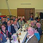 Der Sall des Gasthauses Collet war gut gefüllt. Die Gäste feierten bei ausgelassener Laune und guter Stimmung